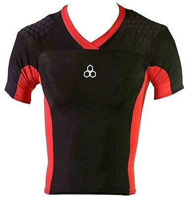 McDavid HexPad Pro HDc Rugby Shirt 767 Compression Shoulder Protection • 28.11£