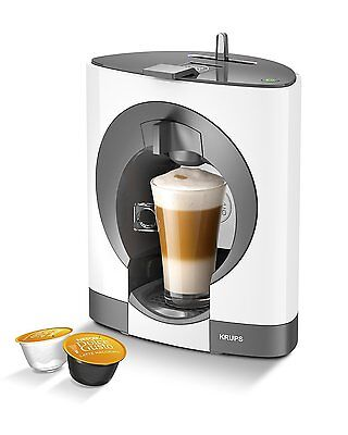NESCAFE Dolce Gusto Oblo Manual Coffee Machine By Krups - White • 73.30$