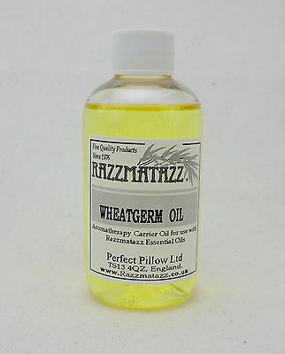 £6.75 • Buy WHEATGERM CARRIER/MASSAGE OIL 200ML, FREEpp, BLEND WITH OUR PURE ESSENTIAL OILS!