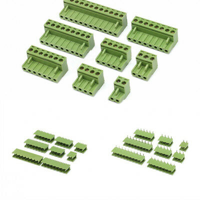 $1.69 • Buy PCB Terminal Block Screw Connector 2/3/4/5/8/9/10/12 Pin KF2EDGK 5.08mm Pitch