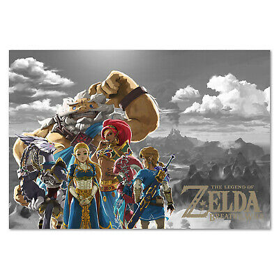 $12.99 • Buy The Legend Of Zelda: Breath Of The Wild Poster - Custom Art High Quality Prints
