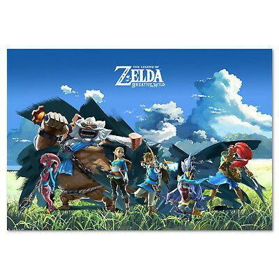 $12.99 • Buy The Legend Of Zelda: Breath Of The Wild - Champions Poster - High Quality Prints
