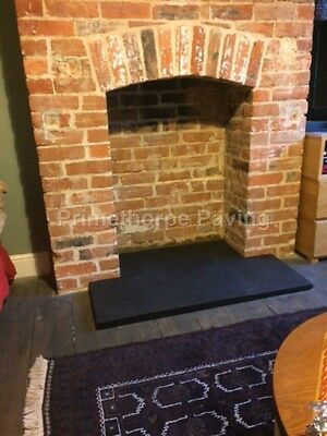 Fireplace Hearth Small | Up To 120cm X 60cm In Size | Black Limestone | 30mm • 189£