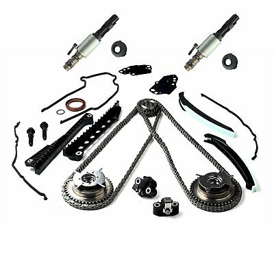 $143.66 • Buy For 05-08 Ford 5.4 F150 F250 3V Timing Chain Kit Cam Phaser Timing + Cover Seal