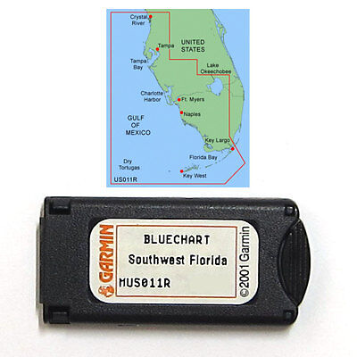 $89.99 • Buy Garmin BlueChart Southwest Florida MUS011R Data Card Marine Chart 010-C0025-00