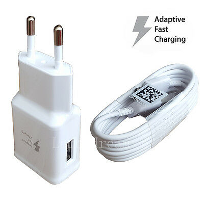 $ CDN2.64 • Buy Original Adaptive Fast Charger USB Cabl For Samsung Galaxy S7 Edge+ S6 Note 5/4