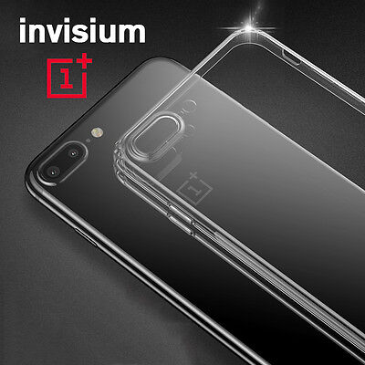AU2.99 • Buy INVISIUM Ultra Thin Soft TPU Clear Gel Black Case Cover For OnePlus 5 OP5 1+5 T
