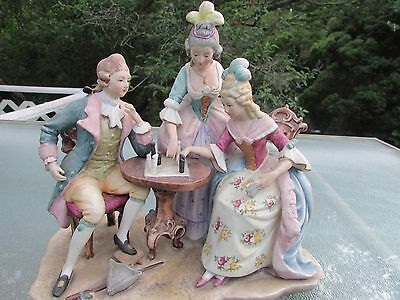 $ CDN1189.31 • Buy Capodimonte Bisque Porcelain Figurine,signed