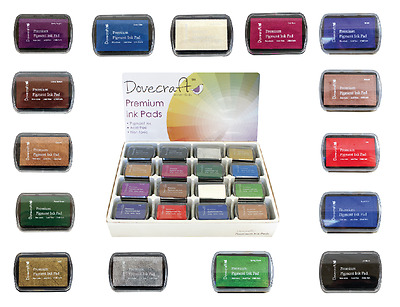 Dovecraft Premium Pigment Ink Pad - Cardmaking Stamping - Great Range Of Colours • 2.25£