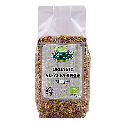 £12.29 • Buy Organic Alfalfa Seeds For Sprouting 500g