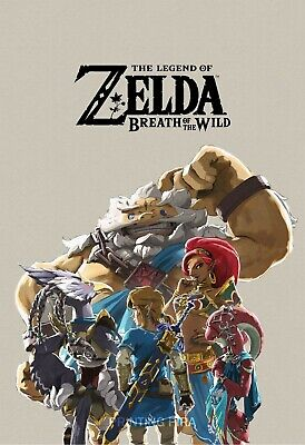 $12.99 • Buy The Legend Of Zelda Breath Of The Wild - Champions Art - High Quality Prints
