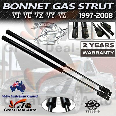 AU17 • Buy Pair Bonnet Gas Struts For Holden Commodore VZ VT VX VY VU Calais Statesmen NEW