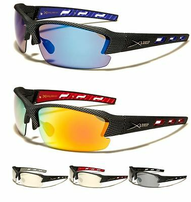 X Loop Sport Mens Womens Mirror Running Cycling Designer Wrap Sunglasses Uv400  • 9.99£