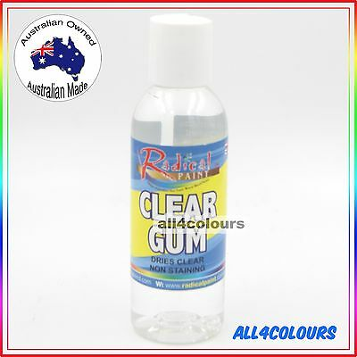 AU2.99 • Buy 125ML OZ Made NON TOXIC CLEAR GUM Water Based Adhesive For SLIME Non Staining