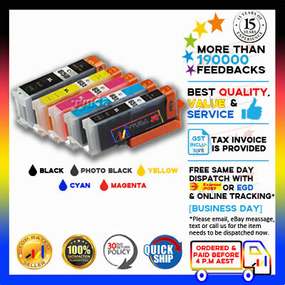 AU13.50 • Buy 10 X NoN-OEM Ink PGI-650XL CLI-651XL For Canon Pixma IX6860 MG5560 MG5660 MG6360