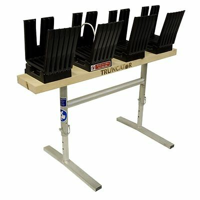 AU597.14 • Buy Saw Horse Log Holder Wood Table Bench For Chain Saw Truncator Metal