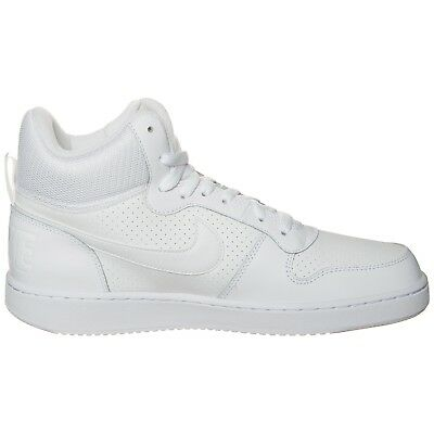 NIKE COURT BOROUGH MID BIANCO Sneakers Scarpe Uomo Alte Sport Tennis 838938  111 • 59.90€ 9a9fa6aebe8