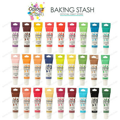 Colour Splash Food Colouring Gel Concentrated Paste For Cake Decorating - 25g • 2.74£