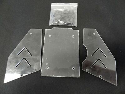 1/5 Scale Rovan Buggy Clear Window Kit Fits HPI Baja 5B SS 2.0 King Motor Buggy • 16.25£