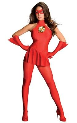 £37.03 • Buy The Flash Avengers Sexy Adult Womens Licensed Fancy Dress Halloween Costume