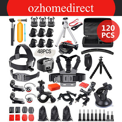 AU27.99 • Buy Accessories Pack Case Chest Head Floating Monopod F. GoPro Go Pro Hero 5 4 3+ 2