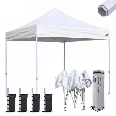 $378.95 • Buy Commercial Ez Pop Up Canopy 10x10 Patio Gazebo Party Trade Show Tent Shelter