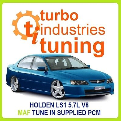 AU299 • Buy Ls1 5.7l V8 Maf Tune Commodore Vt Vx Vy Vz Geniii 300kw Mail Order In Pcm Ss