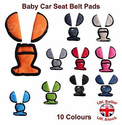 Baby Car Seat Belts Crotch Cover Harness Shoulder Straps Pads Maxi Cosi • 4.97£