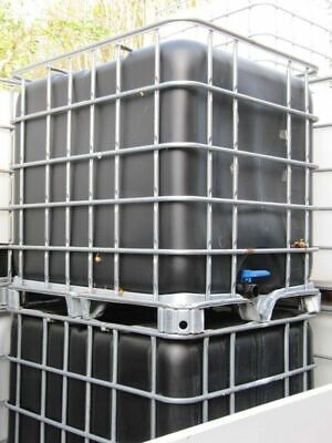 1000 Litre IBC Container. IBC Water Tank Ideal For Water/Bio Fuel Storage, Etc. • 59.99£
