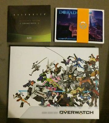 $ CDN63.42 • Buy Overwatch Visual Source Art Book, Soundtrack, & Postcards ONLY! No Game!
