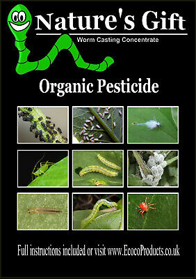 £15.75 • Buy Aphid Killer Organic Pesticide, Insecticide For Aphids - Bug Spray