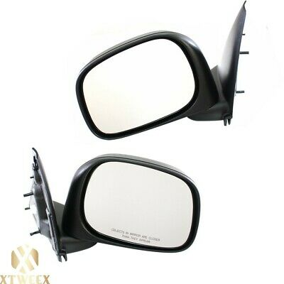 $56.71 • Buy Left+Right Side Manual Mirror Assembly For 02-08 Dodge Ram 1500 03-09 2500 3500