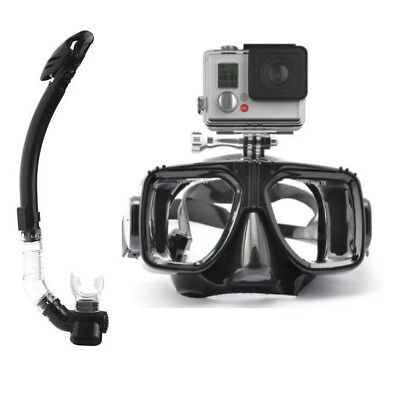 AU64.95 • Buy CamGo Diving Mask For GoPro With Purge Snorkel - Sold From Australia