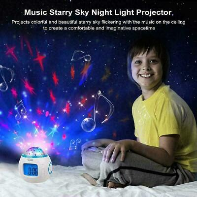 NEWBORN Babies Musical Lullaby Projector Star Dreamshow Sound Sleep Cot Toy P2 • 12.40£