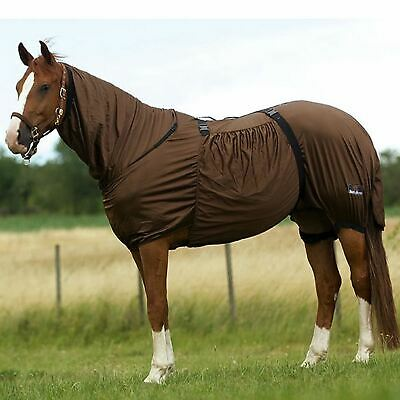 £40.56 • Buy Eczema Horse Pony Fly Rug Full Neck Outdoor Belly Sweet Itch UV Protection Sheet