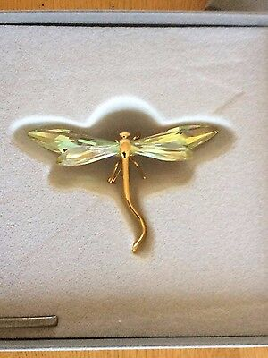 £120 • Buy Swarovski Paradise Bugs Brooch Dragonfly- Alibey Jonquil Perfect Christmas Gift