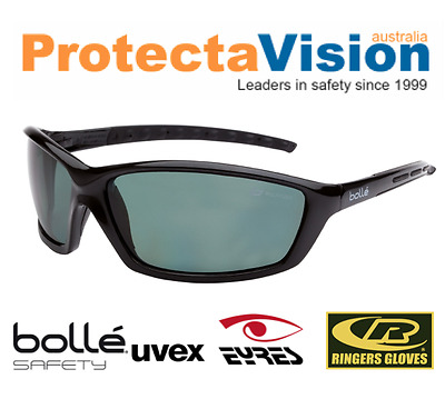 67ee71680e8 Bolle PROWLER POLARISED Safety Glasses Sunglasses Med. Impact. • 70.84