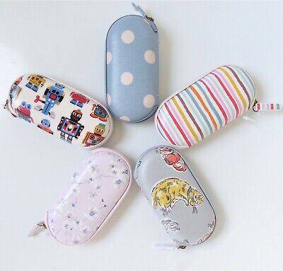 Cath Kidston Glasses Case * Oilcloth * Zip * Hard * BNWT * Spectacles * Gift • 16.75£
