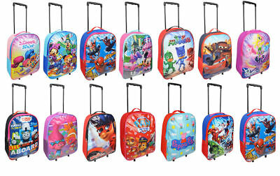 £12.99 • Buy Kids Character Light Weight Standard Trolley Suitcase Cabin Bag