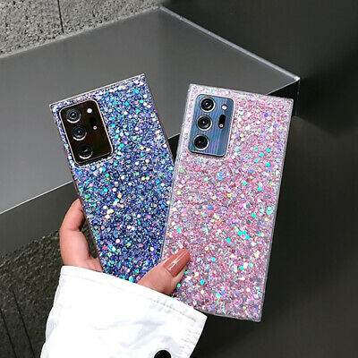 $ CDN4.06 • Buy Bling Glitter Shockproof Soft Silicone TPU Case Cover For Samsung Galaxy Phones