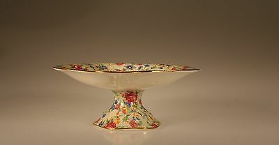$ CDN93.74 • Buy Royal Winton Old Cottage Chintz Round Pedestal Compote England C 1943