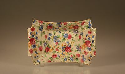 $ CDN49.98 • Buy Royal Winton Old Cottage Chintz Small Rectangular Nut Tray, England C. 1932