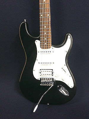 AU129 • Buy Haze E-211MBK Electric Guitar,Sparkling Black+Free Gig Bag,Strap,Digital Tuner
