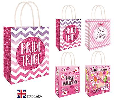 HEN PARTY BAGS Bride To Be Girls Ladies Night Hen Stag Do Goodies Favors Pink UK • 4.73£