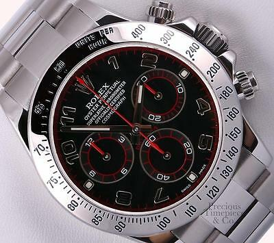 $ CDN27859.50 • Buy Rolex Daytona Cosmograph 116520 Stainless Steel 40mm Watch-Black Arab Dial-Box