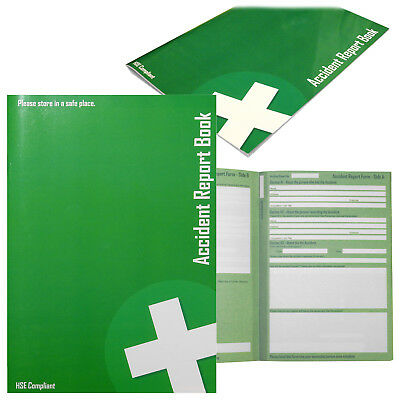 £9.99 • Buy Accident Register Report School Office Medical Record Log Book - HSE Compliant