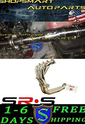 Srs Header And Catted Test Pipe  For Acura Integra 94-01 Rs Ls Gs  • 299.98$
