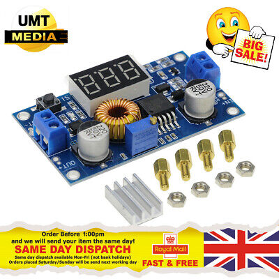 £4.65 • Buy XL4015 LED 5A DCDC Voltage Step Down Buck Converter Volt Meter With Display