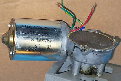 $50 • Buy Reversible Gear Motor 12VDC 12v DC 55RPM GearMotor Right Angle Shaft MADE IN USA