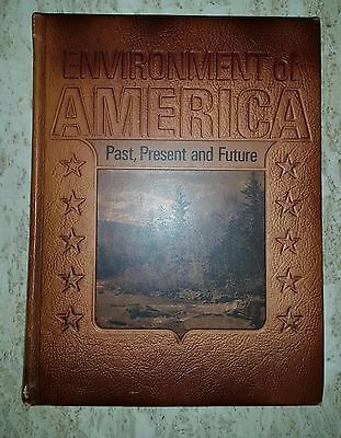 $9.75 • Buy ENVIRONMENT OF AMERICA Past, Present, And Future Leatherbound